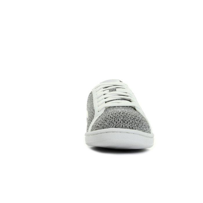 Smash knit blanc/noir Puma