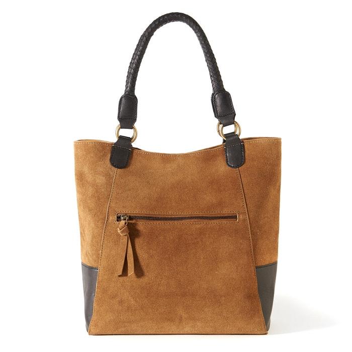 Leather Handbag  La Redoute Collections image 0