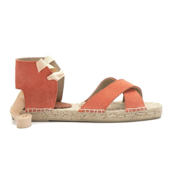 Sandale maria  corail Polka Shoes  La Redoute