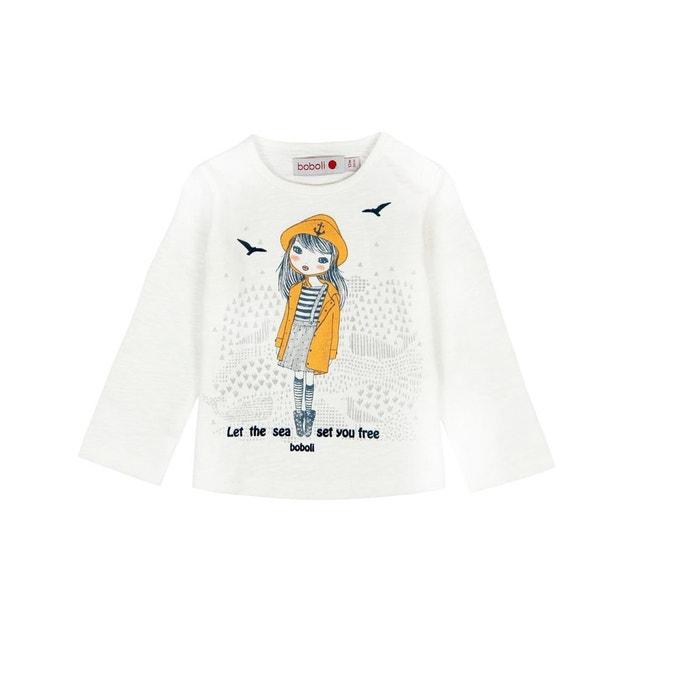 T-shirt tricot flame blanc chimique Boboli  362a059f471