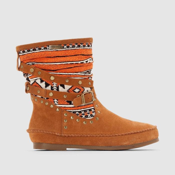 boots cuir goya camel les tropeziennes par m belarbi la redoute. Black Bedroom Furniture Sets. Home Design Ideas