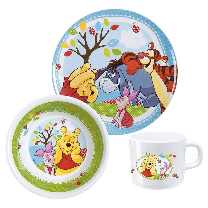 BABY-WALZ Disney Winnie Puuh Le service à petit-déjeuner vaisselle bébé