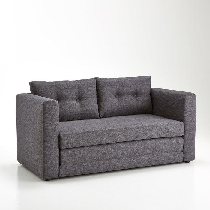afbeelding Omvormbare 2-zit canapé, neo-industriële stijl, UDEL La Redoute Interieurs