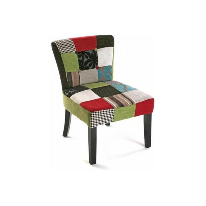 Chaise patchwork multicolore leon declikdeco la redoute - Fauteuil patchwork la redoute ...