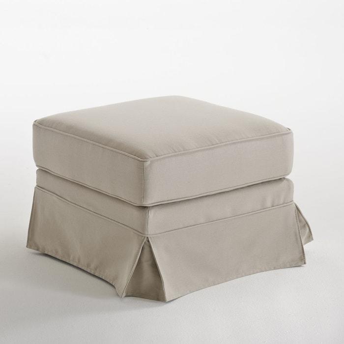pouf coton confort excellence bultex adelia la redoute interieurs la redoute. Black Bedroom Furniture Sets. Home Design Ideas