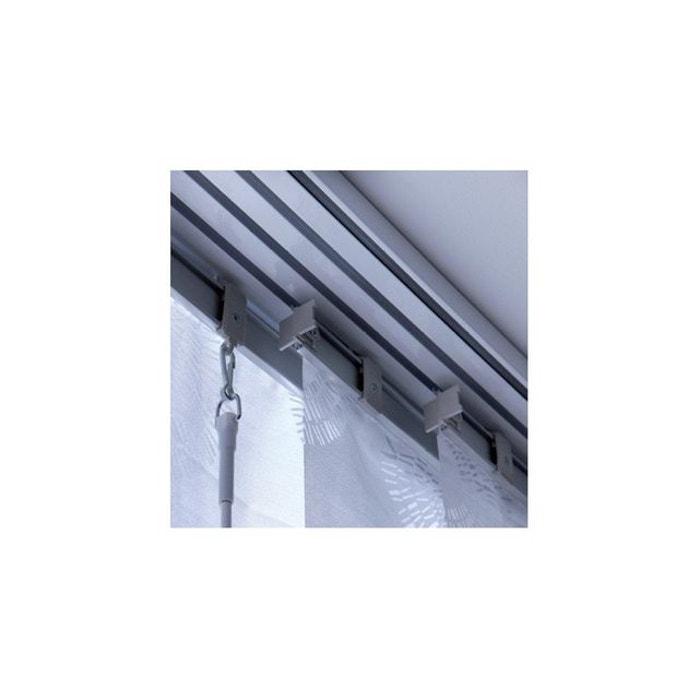rail aluminium gris pour panneau japonais 45 cm gris madeco la redoute. Black Bedroom Furniture Sets. Home Design Ideas