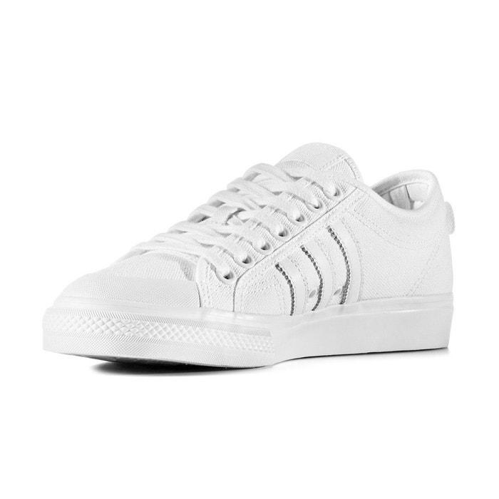 Chaussure basse nizza  blanc Adidas Originals  La Redoute