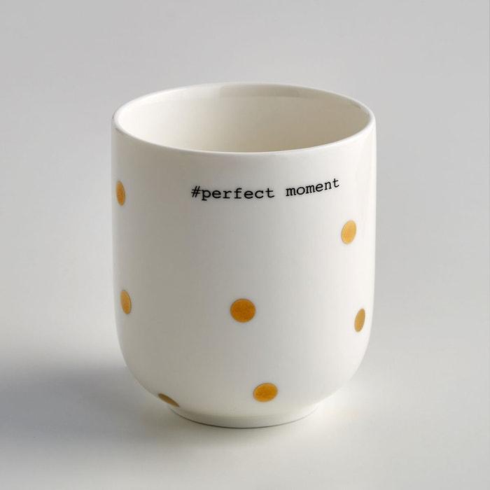 Tasse à tisane en porcelaine, Kubler (lot de 4) La Redoute Interieurs
