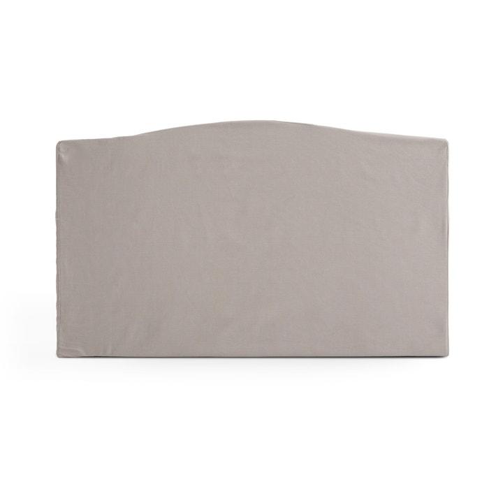 Image Housse de tête de lit pur coton, forme Louis XV SCENARIO