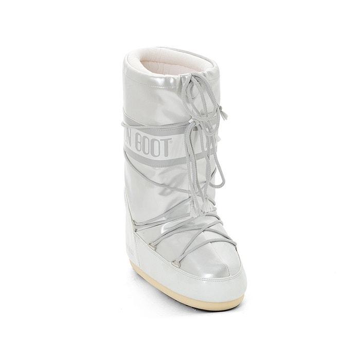 Bottes fourrées vinil blanc Moon Boot