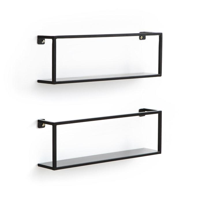 Hiba Metal Wall Shelves, 50cm (Set of 2)  La Redoute Interieurs image 0