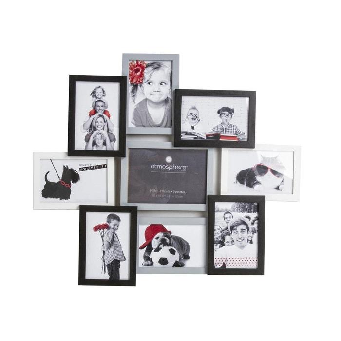 p le m le tricolore 9 photos noir atmosphera la redoute. Black Bedroom Furniture Sets. Home Design Ideas