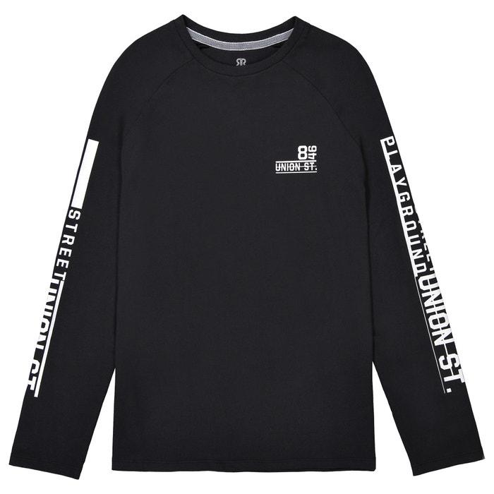Image T-shirt maniche raglan 10-16 anni La Redoute Collections