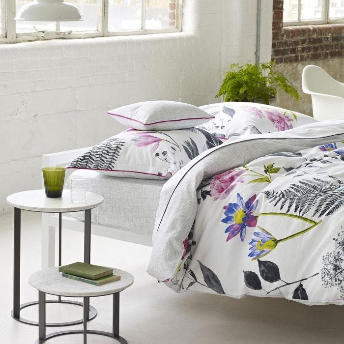 drap plat mokuren graphite designers guild la redoute. Black Bedroom Furniture Sets. Home Design Ideas