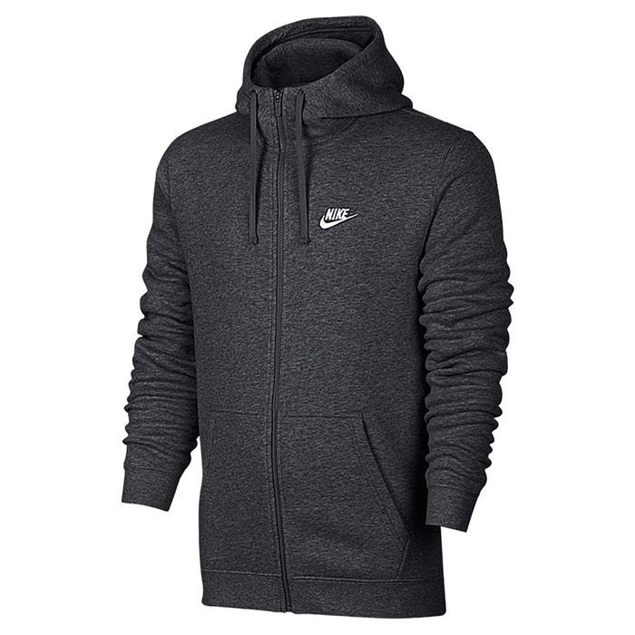 Sweat zippé à capuche Nike   La Redoute d923a78d1468