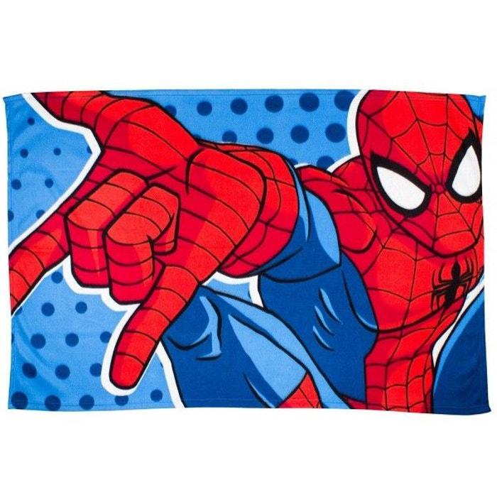 Plaid polaire spiderman marvel multicolore amazing spiderman la redoute - Plaid polaire grande taille ...