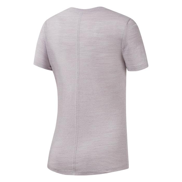 REEBOK cuello El corta Camiseta redondo y manga con Marble zZExzrqwOW