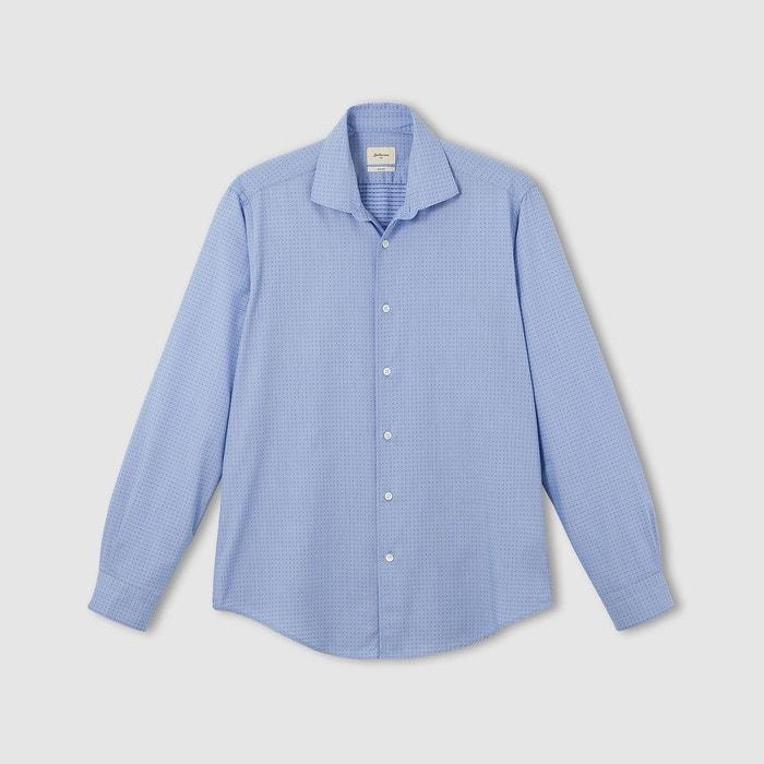 chemise muller bleu bellerose la redoute. Black Bedroom Furniture Sets. Home Design Ideas