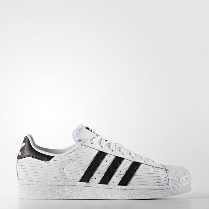 Baskets superstar blanc/noir Adidas