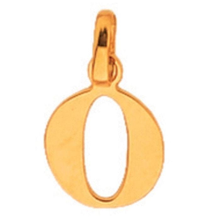 unique So initiale découpé 9 carats La Bijoux Chic Redoute couleur 000  lettre o jaune 375 4cdfef346b1d