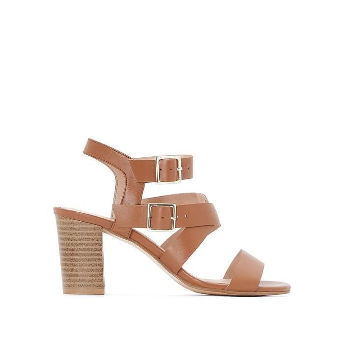 Image Skórzane sandały z podwójną sprzączką atelier R