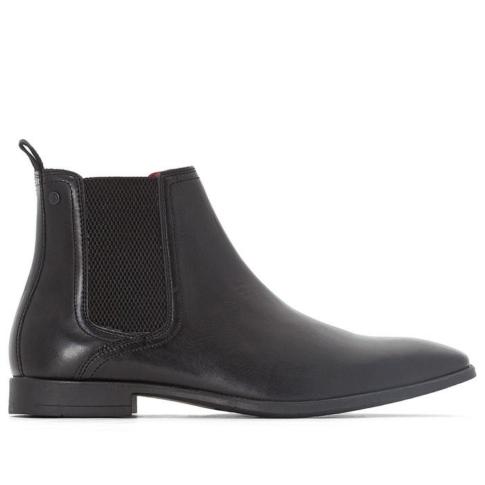 afbeelding Chealsea Boots in leer GUINEA BASE LONDON