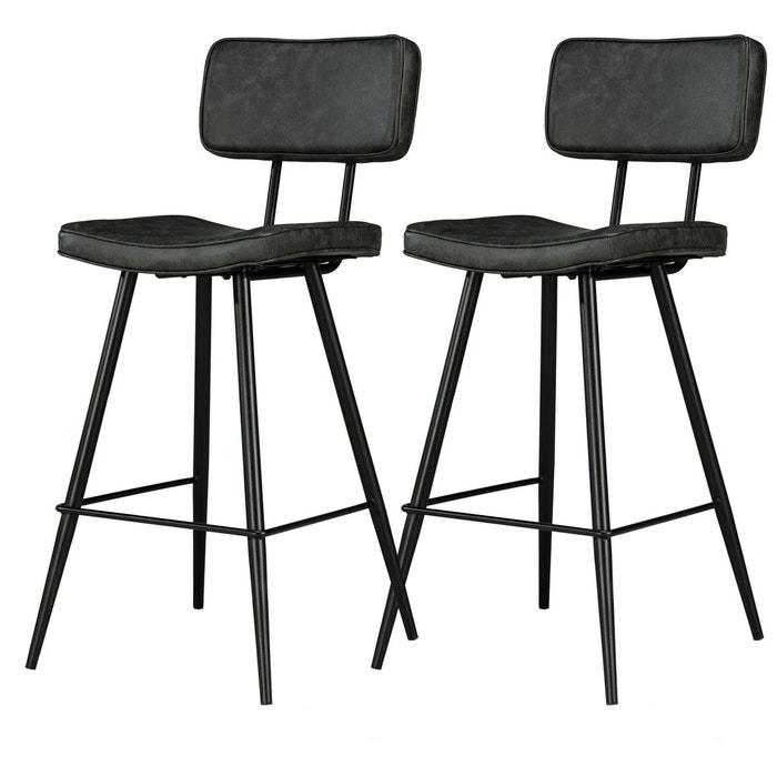 chaise de bar texas 65 cm lot de 2 rendez vous deco la. Black Bedroom Furniture Sets. Home Design Ideas