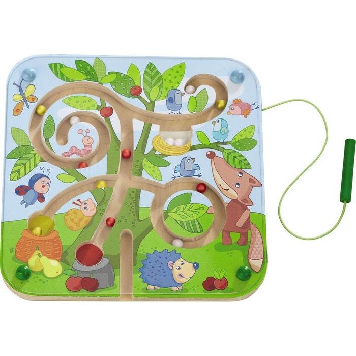 haba le jeu aimant labyrinthe arbre jouet en bois multicolore haba la redoute. Black Bedroom Furniture Sets. Home Design Ideas