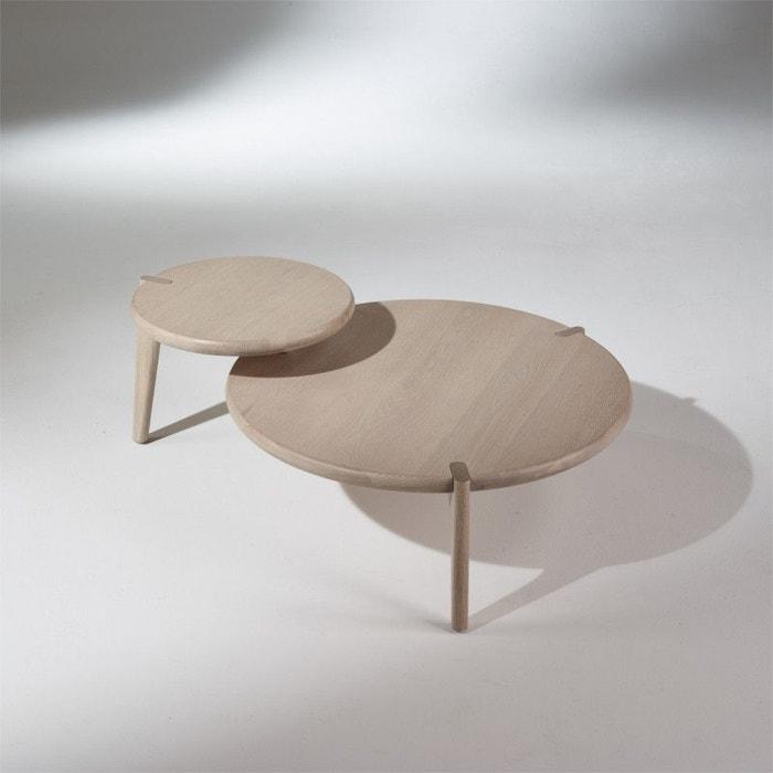 table basse vintage ch ne blanchi sixty ch ne blanchi. Black Bedroom Furniture Sets. Home Design Ideas