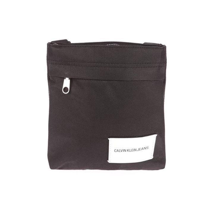 Sacoche plate sport essential micr en toile polyester noir Calvin Klein Jeans | La Redoute Vente Boutique En Ligne UrfW37