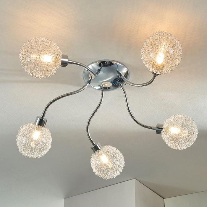 Plafonnier Led U00e0 Cinq Lampes Ticino Argent Chromu00e9 Lampenwelt | La Redoute