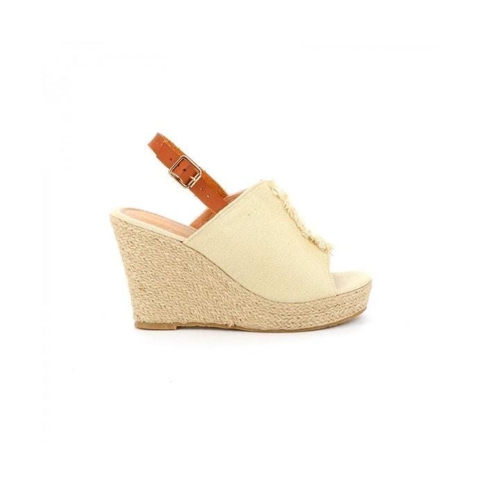 15e7f19e4df Sandale plateforme BAGNERA CASSIS COTE D AZUR image 0