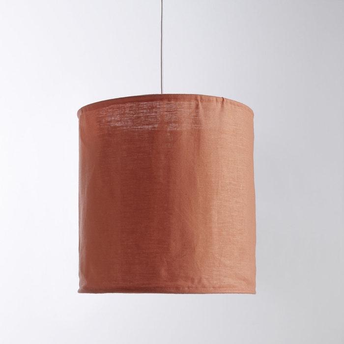Imagen de Pantalla de lámpara de techo de lino arrugado Thade La Redoute Interieurs
