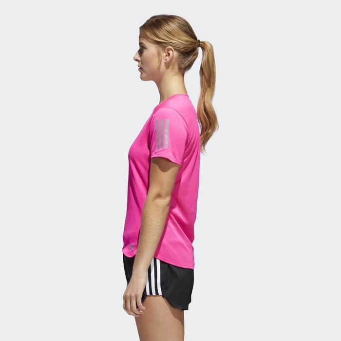 corta de Camiseta de running ADIDAS manga PERFORMANCE qInpH
