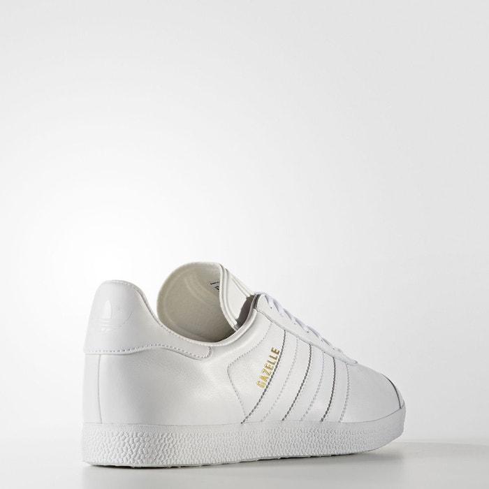 Baskets gazelle blanc Adidas Originals