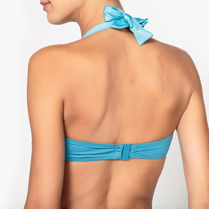 a06911537a08 Reggiseno per bikini a fascia con ferretti bicolore blu navy / blu LA  REDOUTE COLLECTIONS