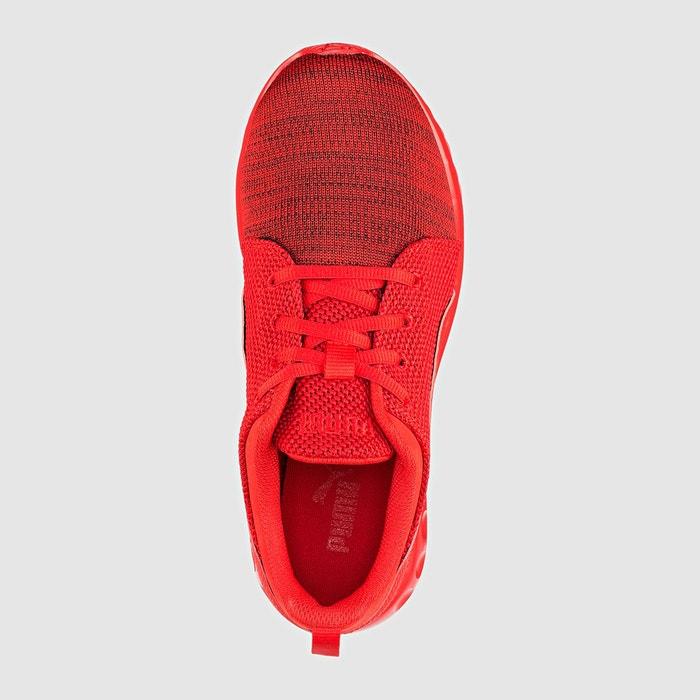 Baskets carson runner camo knit rouge/gris Puma