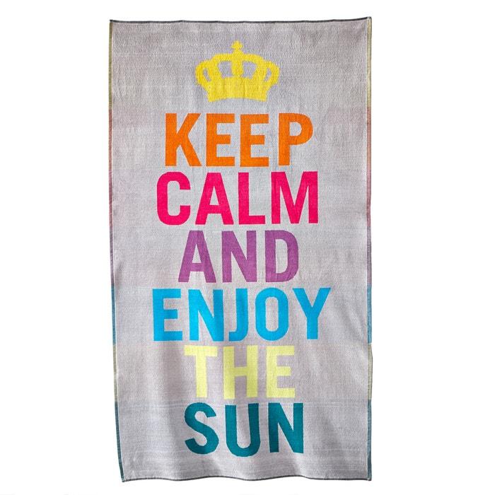 Obidos Cotton Beach Towel 420 g/m²  La Redoute Interieurs image 0