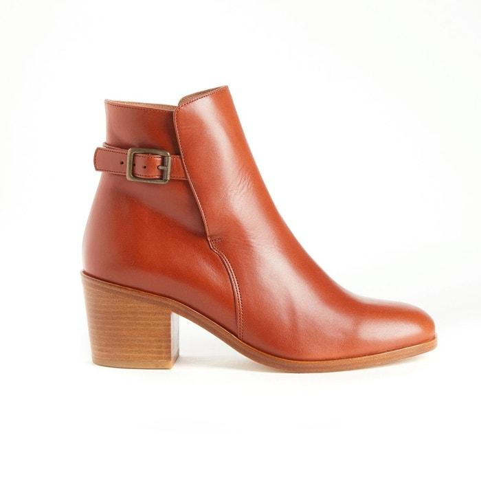 Boots en cuir BANVILLE