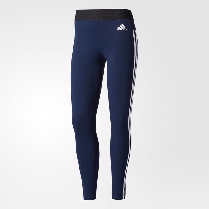 sports leggings navy adidas performance la redoute. Black Bedroom Furniture Sets. Home Design Ideas