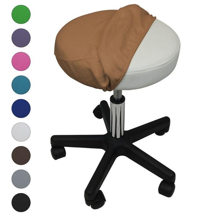 drap housse de protection en ponge pour tabouret rond. Black Bedroom Furniture Sets. Home Design Ideas