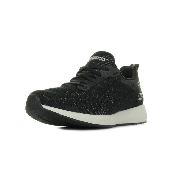 Skechers Bobs Squad Multifaceted noir - Chaussures Baskets basses Femme