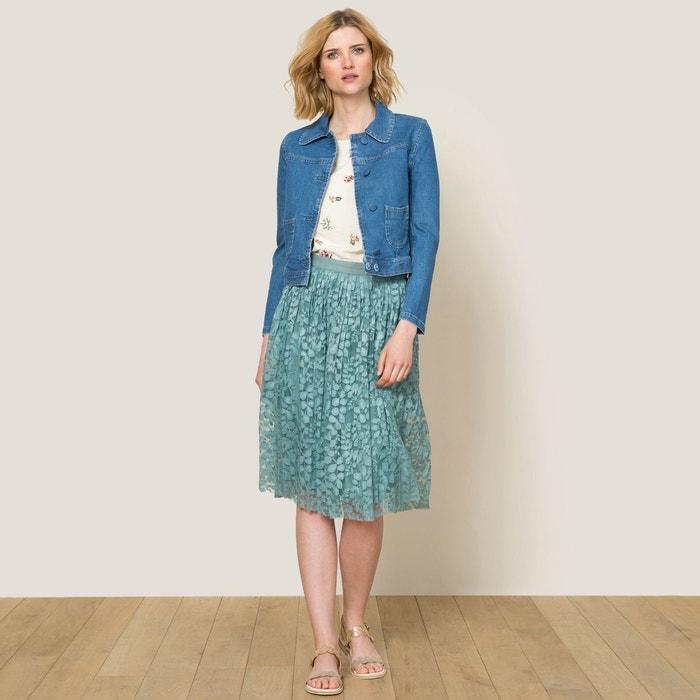 Veste jean bidule bleu paul and joe sister la redoute - Thylane blondeau taille ...
