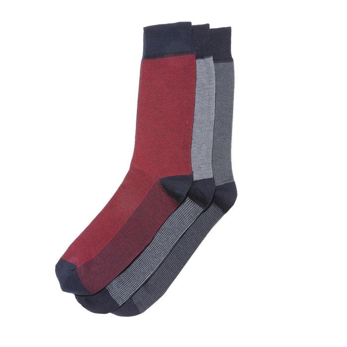 3 пары носков  La Redoute Collections image 0