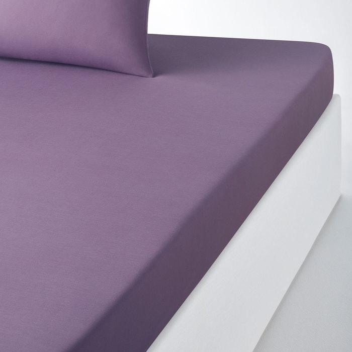drap housse en coton scenario la redoute interieurs la redoute. Black Bedroom Furniture Sets. Home Design Ideas