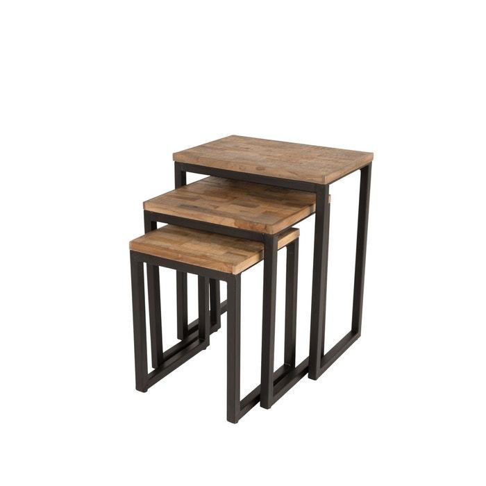 Table Basse Gigogne Suri Set De 3