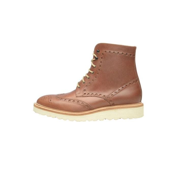Boots derby en marron nussbraun Shoepassion