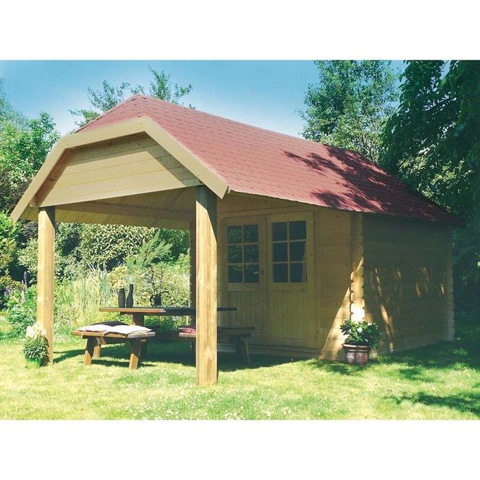 abri jardin cork m x x m 28. Black Bedroom Furniture Sets. Home Design Ideas