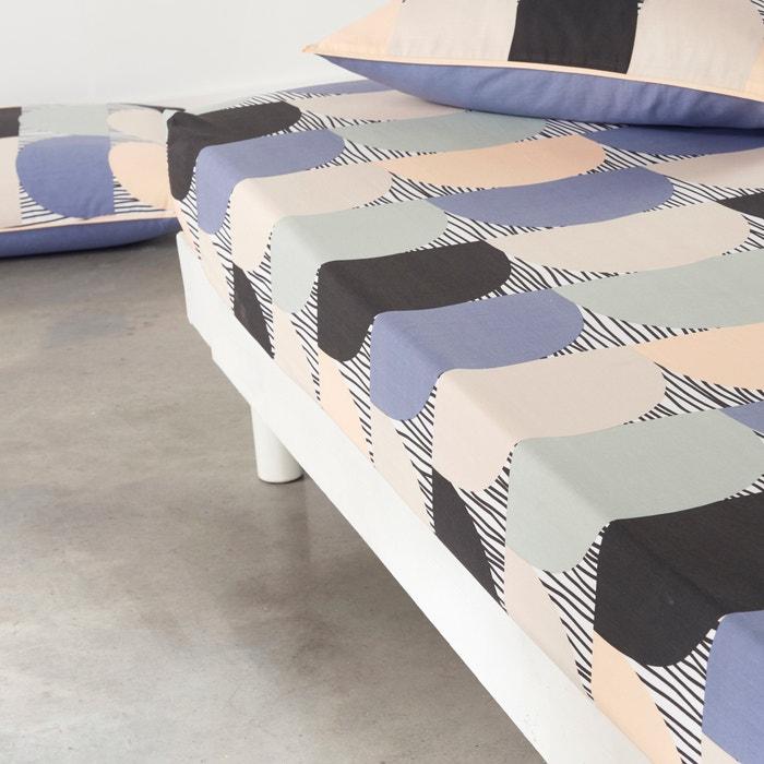 afbeelding Hoeslaken in zuiver katoen, Slacio La Redoute Interieurs