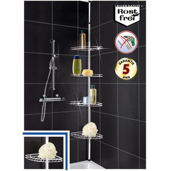 etagere d'angle salle de bain wenko